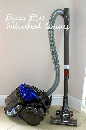 how to clean dyson dc23 canister