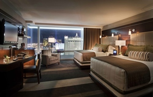 aria resort & casino- deluxe queen room