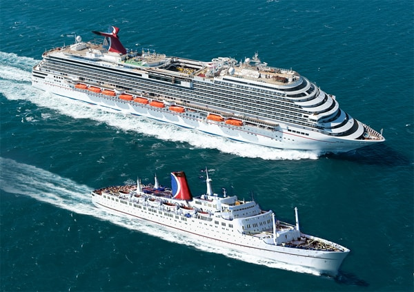 Carnival Cruise Lines Takes Delivery Of The Corporations Th - How big is a carnival cruise ship