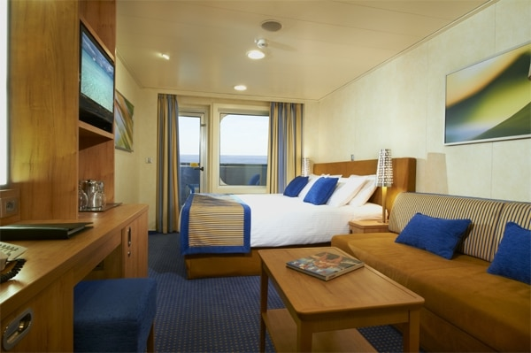 Sneak peek carnival breeze staterooms for Balcony room cruise ship
