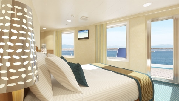 Sneak Peek Carnival Breeze Staterooms