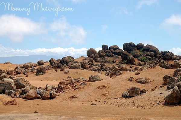 Garden of the Gods: Lunar-like Landscape on Lanai