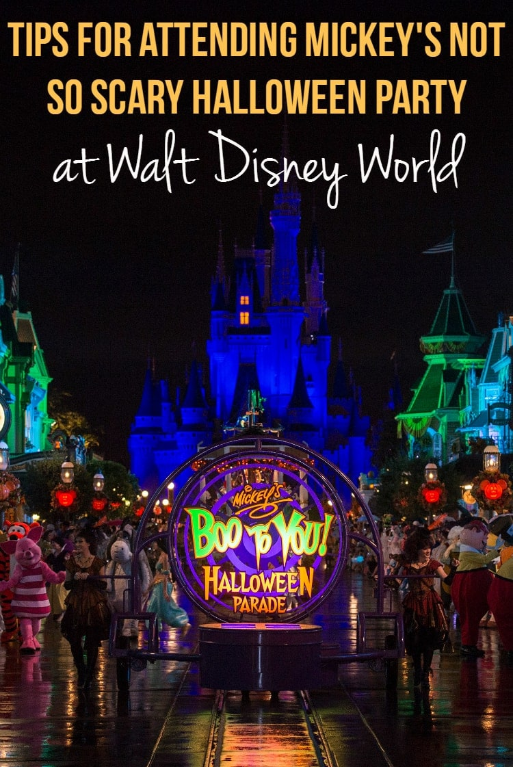 Mickey Not So Scary Halloween Party Tips
