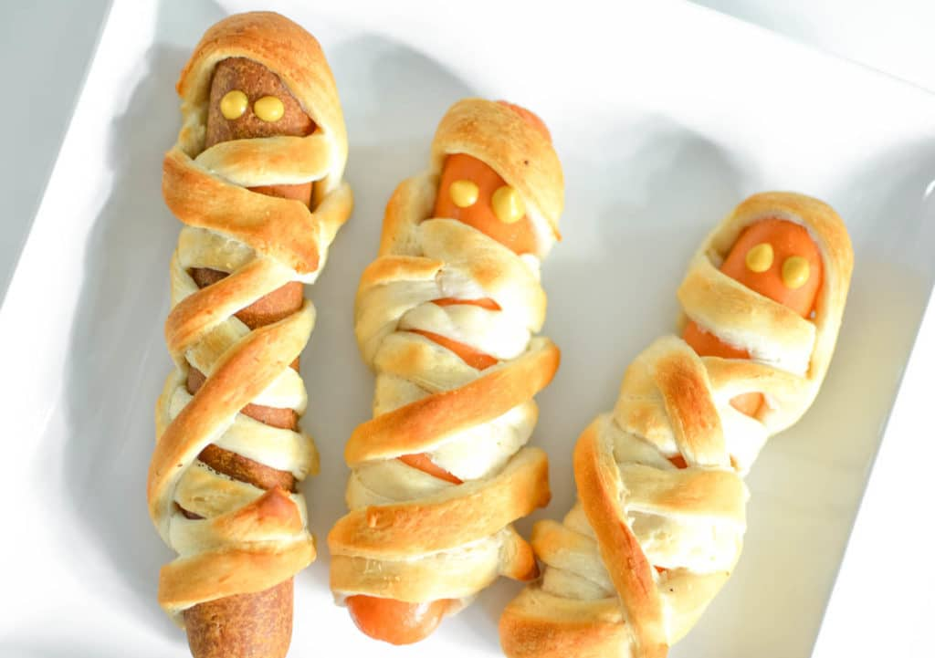 Mummy Hot Dogs Images