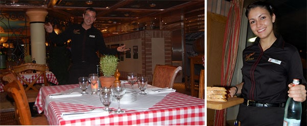carnival magic cucina del capitano