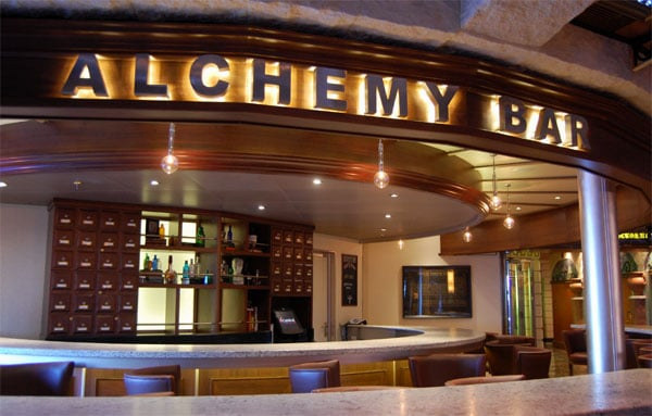 Carnival Liberty Alchemy Bar
