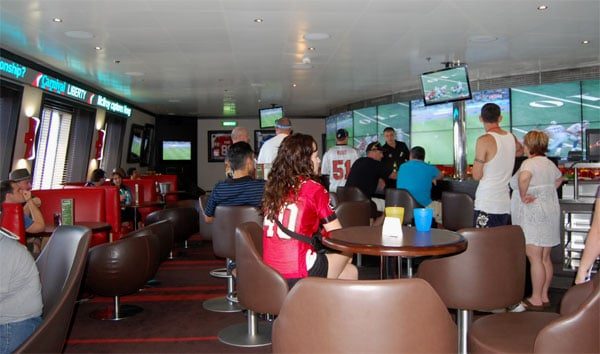 Carnival Liberty EA Sports Bar