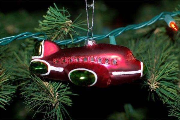 2011 Travel Christmas Ornaments