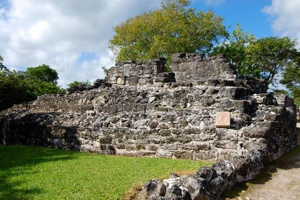San Gervasio Ruins structure
