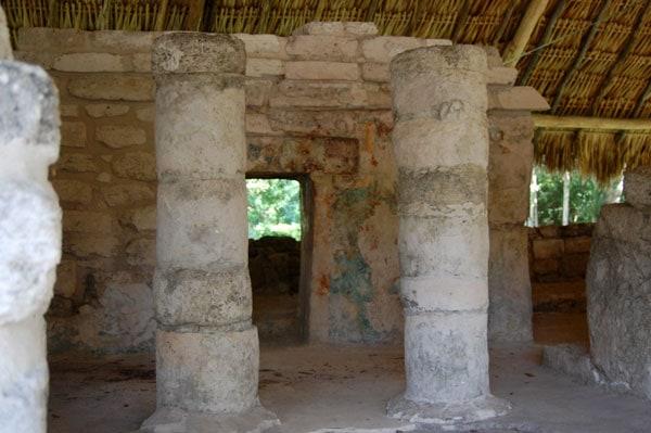 San Gervasio Ruins temple