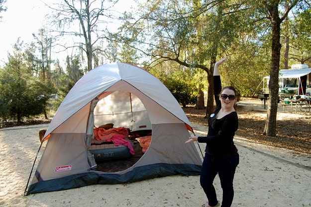 Camping at Disney's Fort Wilderness