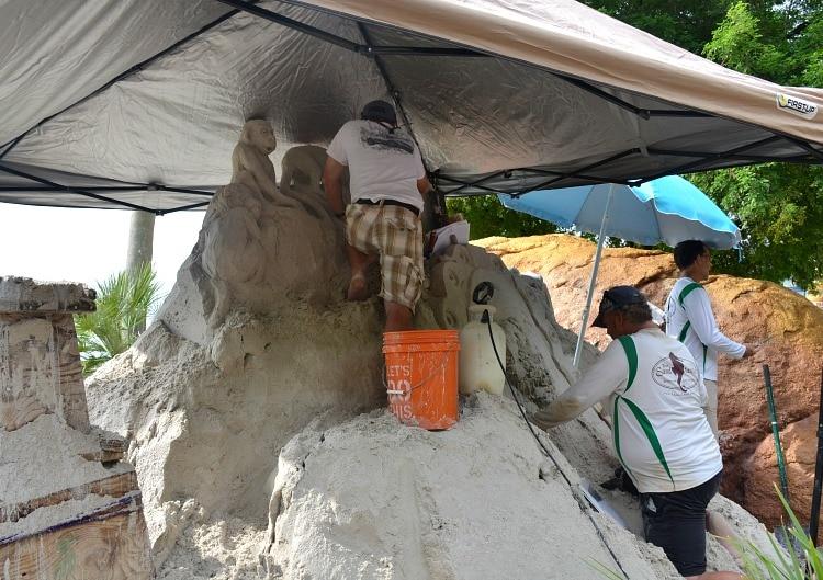 monkey-kingdom-sand-sculpture-epcot