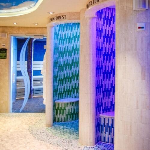 rainforest room showers