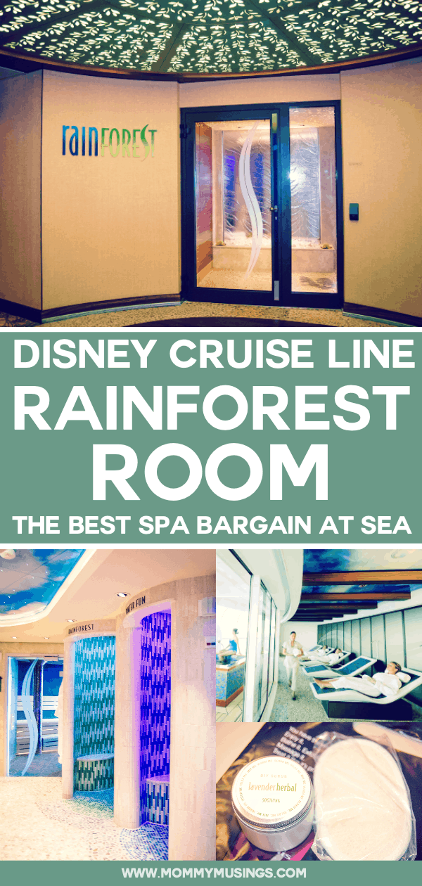 rainforest room Disney cruise line