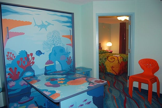 Disney's Art of Animation Resort: 'Finding Nemo' Family Suites {Room ...