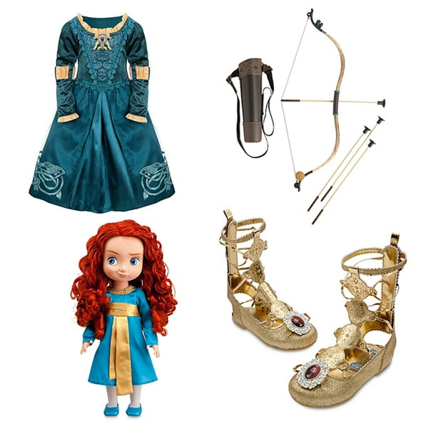 Brave merchandise now available at disney store
