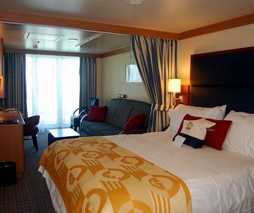 Deluxe Family Oceanview Stateroom with Verandah