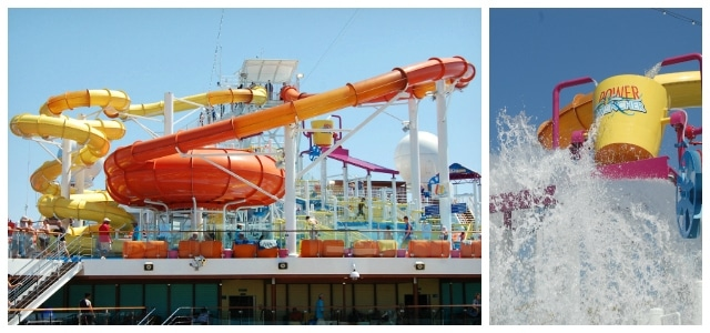 Carnival Breeze Water Works