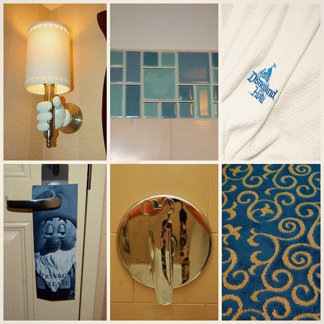disneyland hotel hidden mickey's