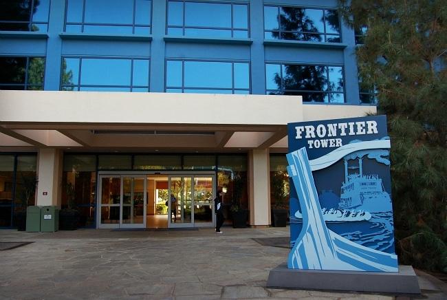 Disneyland Frontier Tower