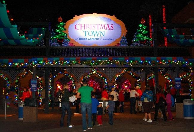 Busch gardens christmas town in pictures - Busch gardens christmas town rides ...