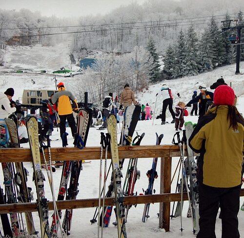 beech mountain skiiing