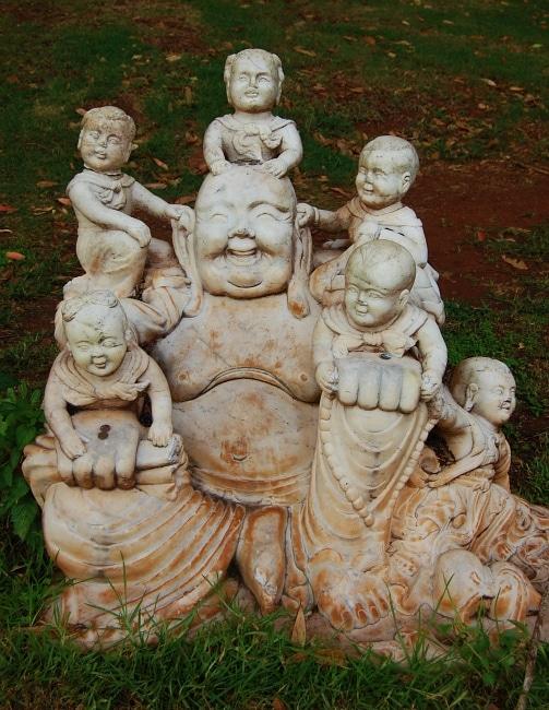 Buddha family four seasons