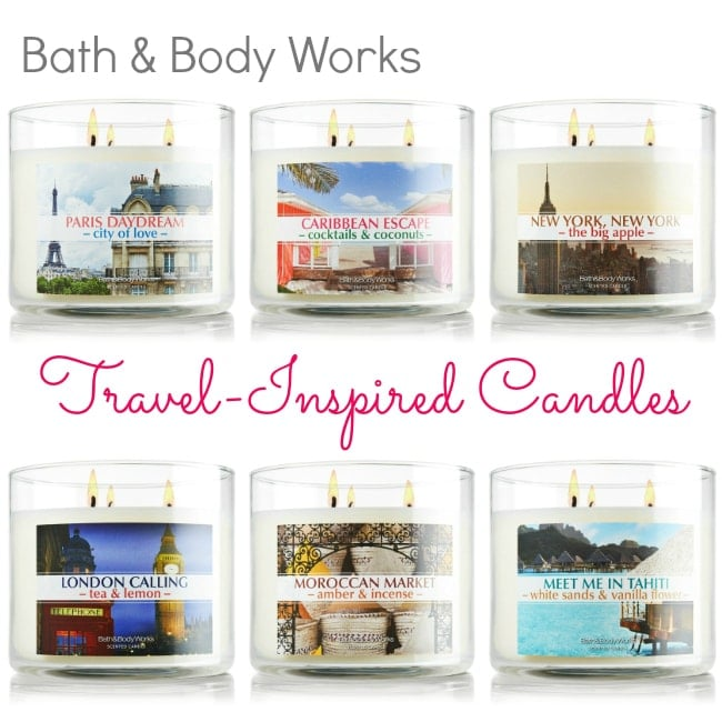 bath & body works travel candles