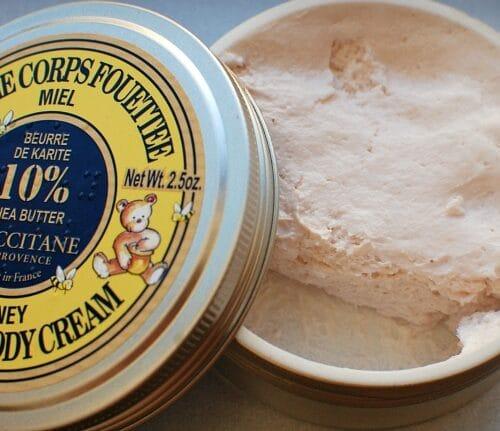 Loccitane whipped body cream