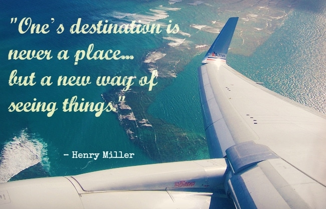 Ten Inspiring Travel Quotes