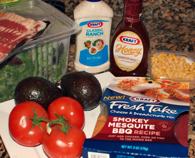 Kraft fresh take ingredients