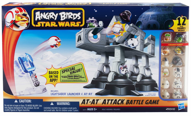 hasbro angry birds at at game