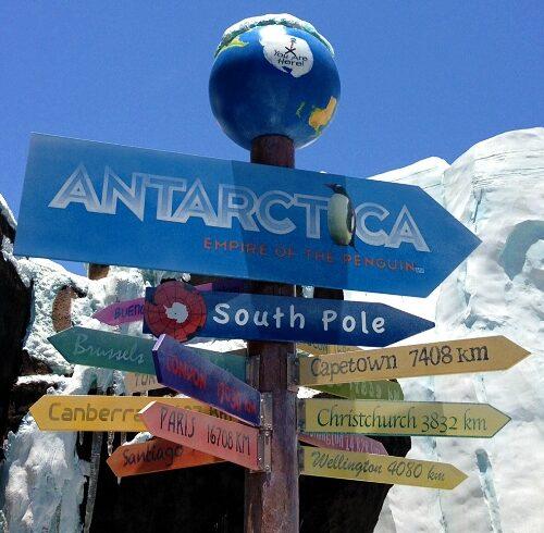 Antarctica seaworld