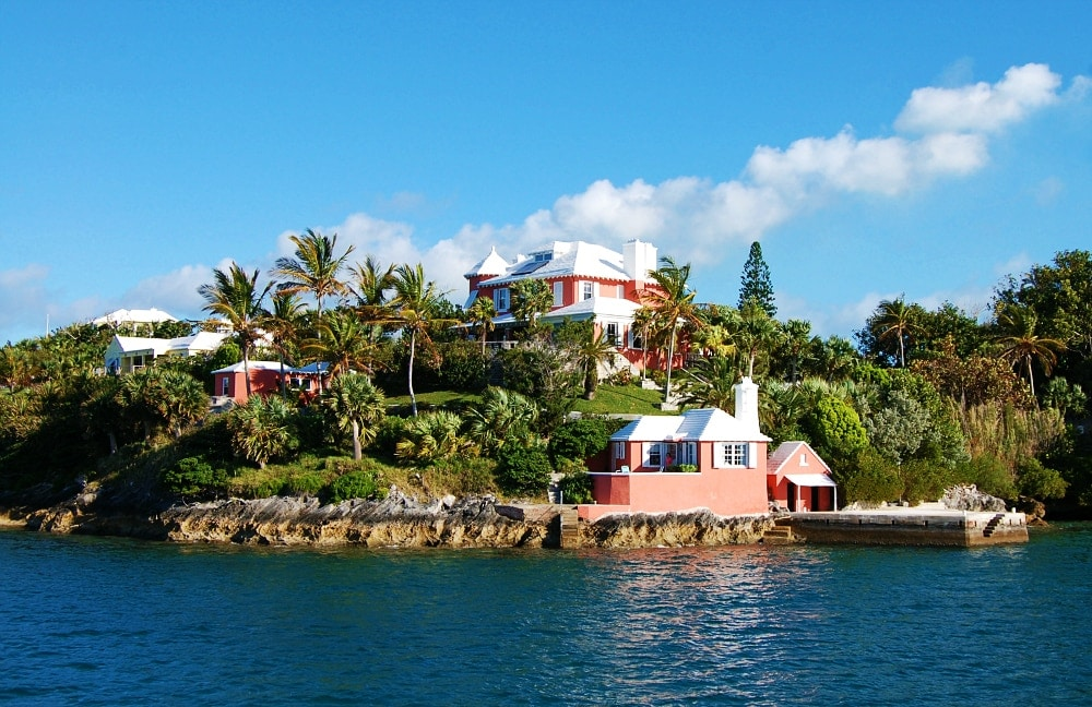 white roof house bermuda