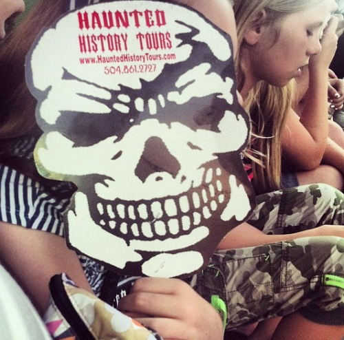 haunted history tour mask