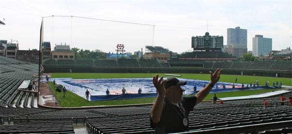 Touring Wrigley Field
