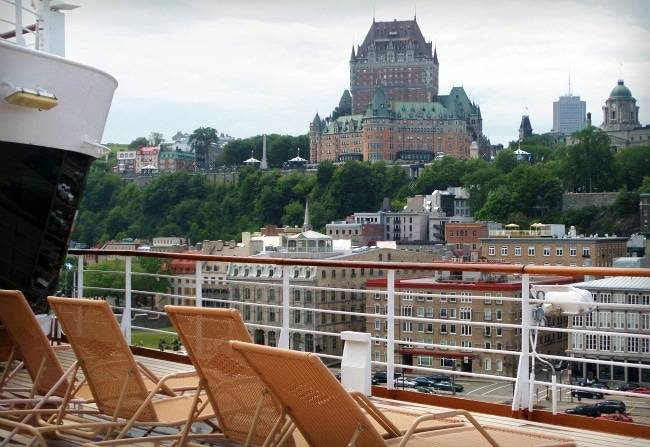 holland america quebec city