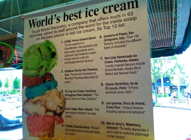 world's best ice cream