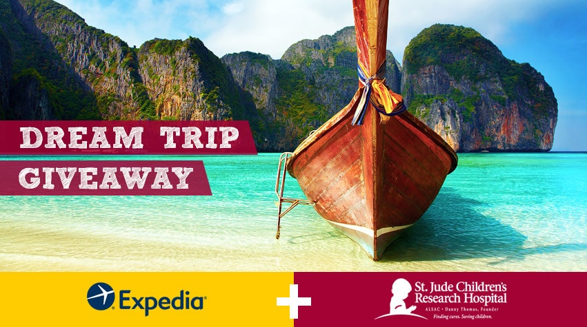 expedia st. jude giveaway
