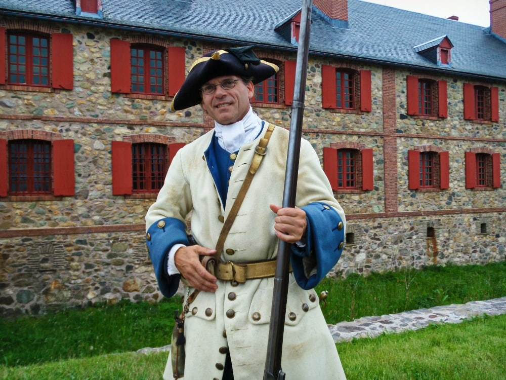 Fortress of Louisbourg soldier