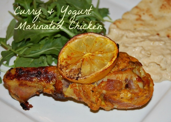 Curry yogurt marinated chicken drumsticks recipe - Marinade poulet curry barbecue ...