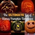 free disney pumpkin templates
