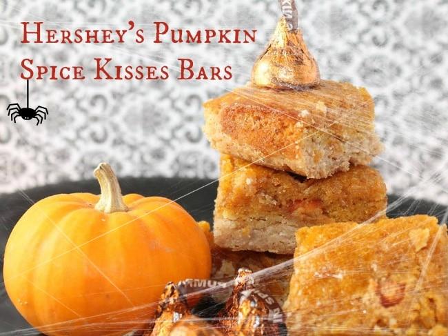 Hershey's Pumpkin Spice Kisses Bars Recipe