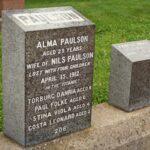 Titanic headstone