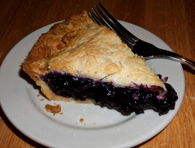 blueberry pie maine