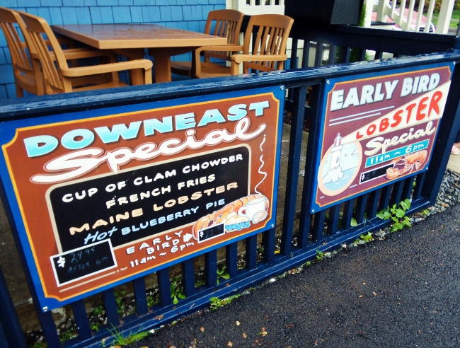 downeast special west street cafe