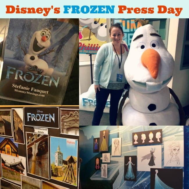 frozen press day