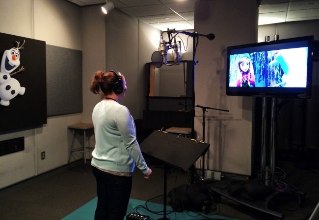 frozen voiceover