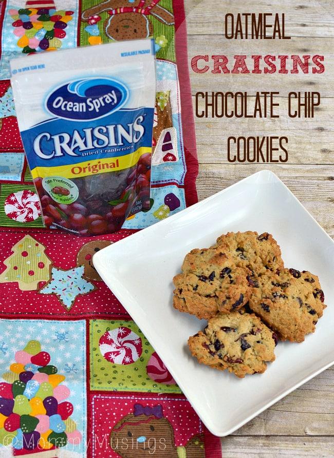 oatmeal craisins cookies