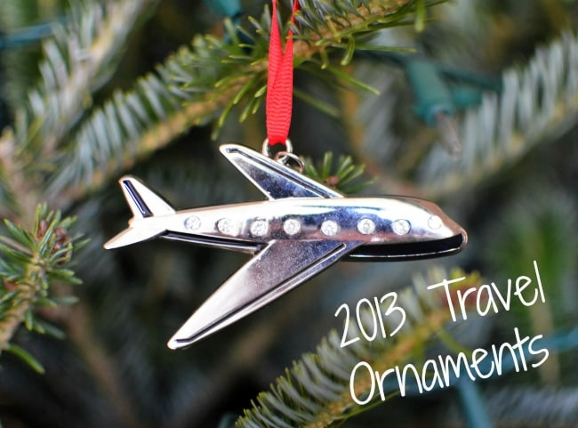 travel Christmas ornaments